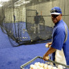 LA Dodgers Clubhouse Batting Tunnels