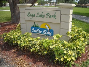 SAGA LAKE PARK<br /> Recreation Park<br /> Cutler Bay, FL