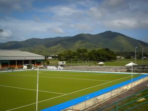 NAT'L HOCKEY CENTER<br />  Trinidad & Tobago<br /> Turf Field Hockey Field