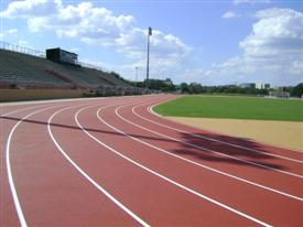 UNIV. SOUTH FLORIDA<br/ > Track & Event Areas<br/ > Tampa, FL