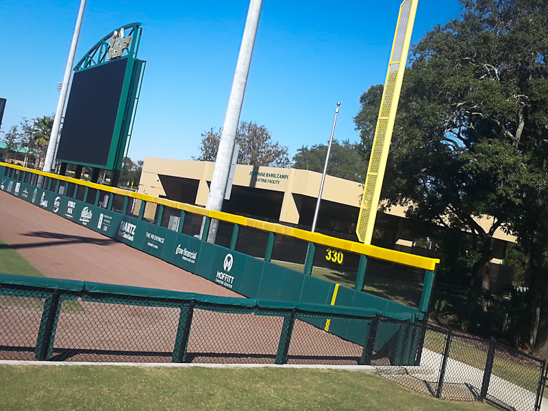 UNIV. SOUTH FLORIDA Softball/Baseball Venue Tampa, FL | Turbo Link ...