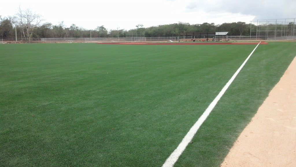 how to build a turf baseball field