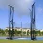 Ansin Sports Complex Hammer Discus Cage Miramar FL