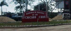 CHICAGO CUBS <br/> D.R. Baseball Academy <br/> Facility Upgrades