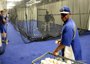 LA DODGERS<br/ > Stadium Batting Tunnels<br/ > Los Angeles, CA