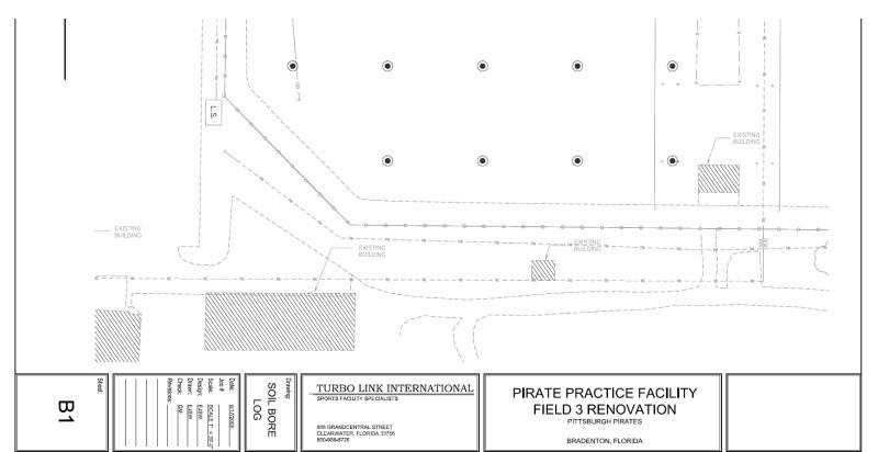 Pirate City Field 3 Soil Boring Log Synthetic Turf Baseball Field Artificial Turf