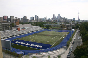 UNIVERSITY OF TORONTO<br /> Varsity Center<br /> Track & Field