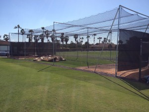 PITTSBURGH PIRATES<br />Outdoor Batting Cages<br />Pirate City - Bradenton, FL