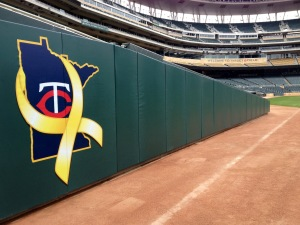 Minnesota Twins<br />Wall Padding<br />Target Field - Minneapolis, MN